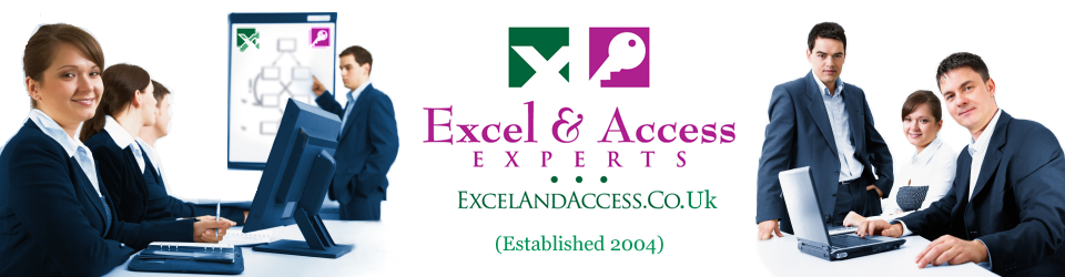 The Expert Excel Consultants Banner